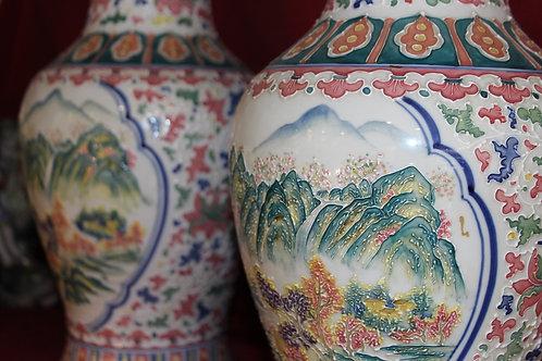 A Pair of vases Japanese /Par de Jarras Japonesas