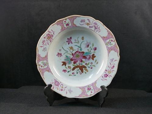 A Chinese plate export porcelain/ Porcelana da China Companhia das Índias
