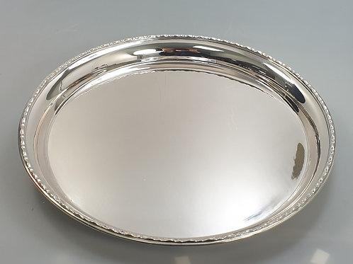 A portuguese silver tray Leitão & Irmão- Lisboa