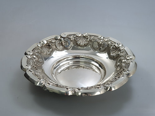 A portuguese silver basket
