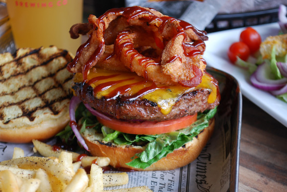 Drool worthy burger images for restaurant marketing