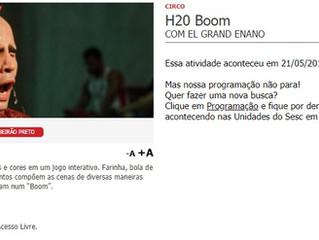 H2oBoom na 18º Feira do Livro (Ribeirão Preto)