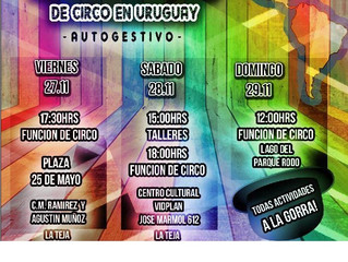 1er Festival Latinoamericano de Circo en Uruguay