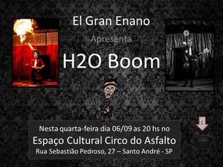 H2oBoom em Circo do Asflato