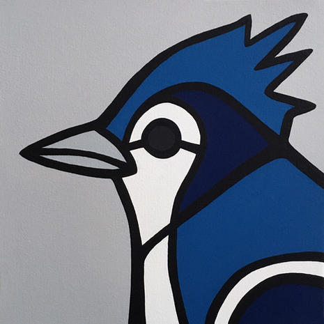 Blue Jay  •  12x12