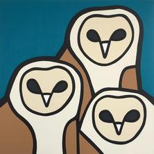 Barn Owls  •  36x36