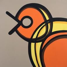 Orange Bird  •  24x24