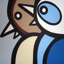 2 Blue Jays  •  30X30