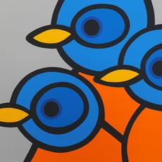 3 BlueBirds  •  18x24