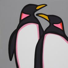 Love Penguins  •  24x24