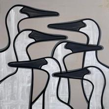 Egrets  •  40x40