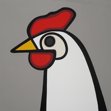 White Hen  •  30x30