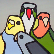 The Flock  •  24x24