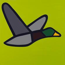 Flying Mallard  •  24x24