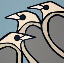 City Birds  •  36x36