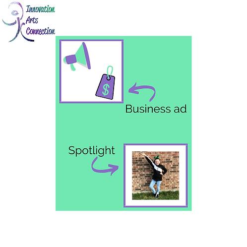 Yearbook Ad/Spotlight
