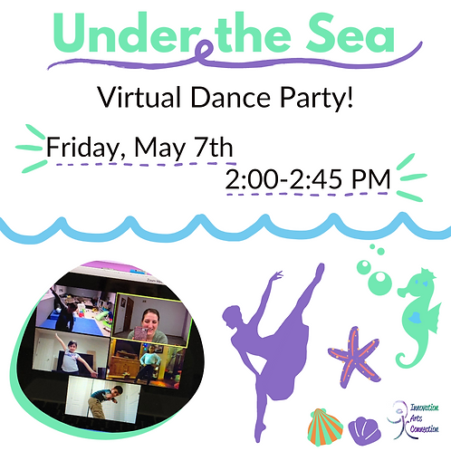 Under the Sea Virtual Dance Party
