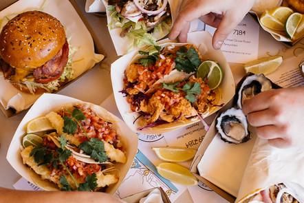 Fried Fish & Prawn Tacos