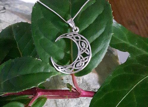 Celtic Moon Pendant
