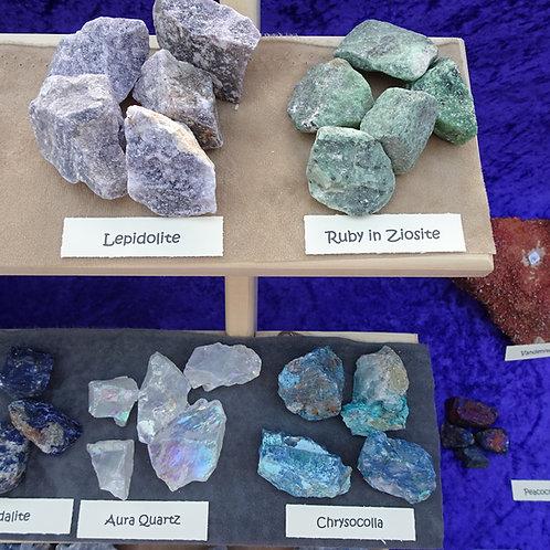 Rough Crystals