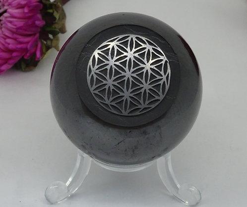 Engraved Shungite Spheres