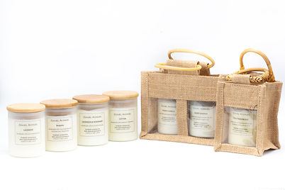candles and bags