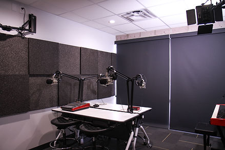 The Grid Podcast Studio shaded