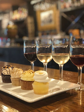Wine and Cupcake Flight: June 19th