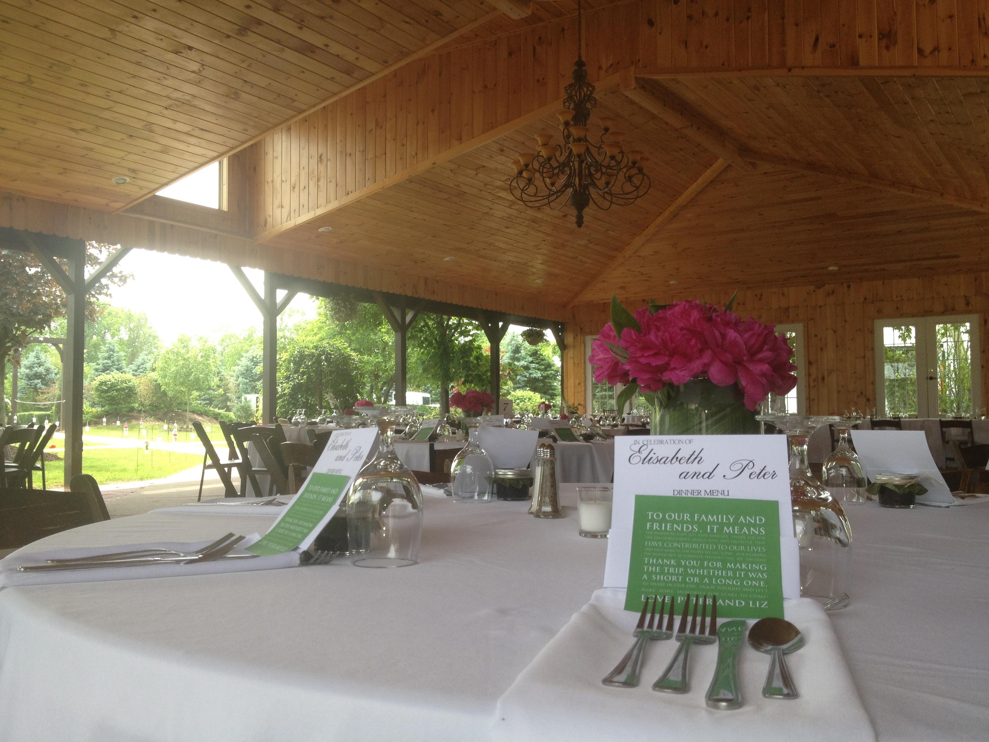 vineyard wedding location