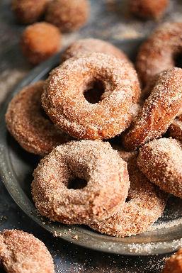 1/2 Doz Cinnamon Sugar Donuts- Weekends Only