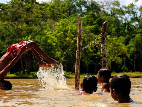 Comunidade Arraiol, Bailique - AP - Brasil.