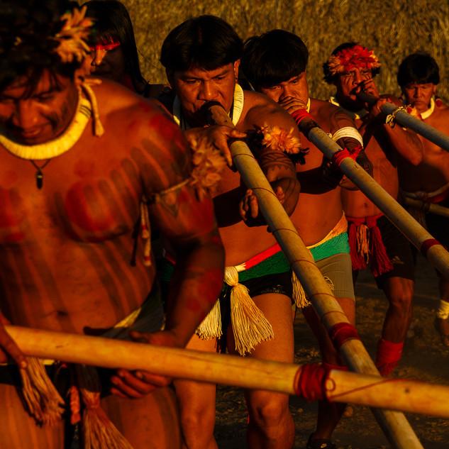 Povos do Alto Xingú.  MT - Brasil