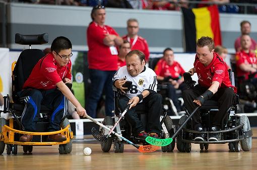 Duchenne en rolstoelhockey
