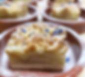 Sweet and Salty Catering Zürich Dessert Apfel Streusselkuchen