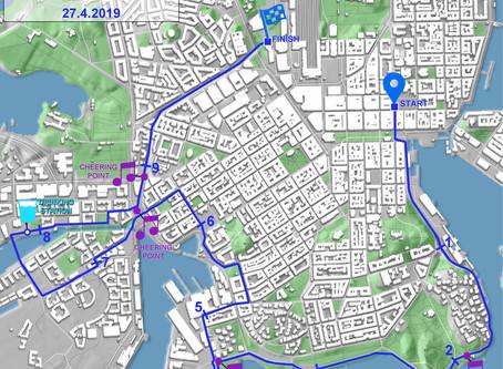 27.4.2019 juostavan Helsinki10:n ennakkotunnelmia