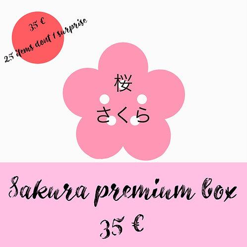 Sakura premium box abonnement 3 mois