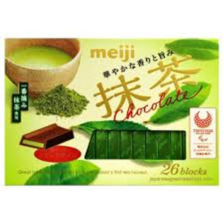 Meiji matcha chocolate