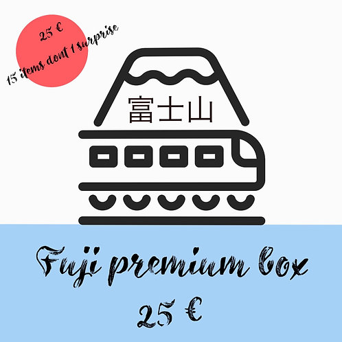 Fuji premium box  abonnement 6 mois