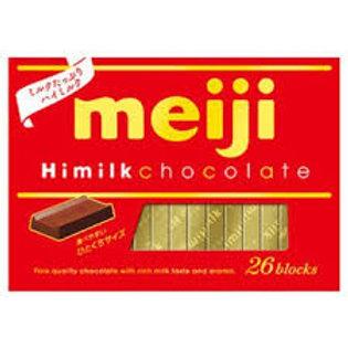 Meiji himilk chocolate