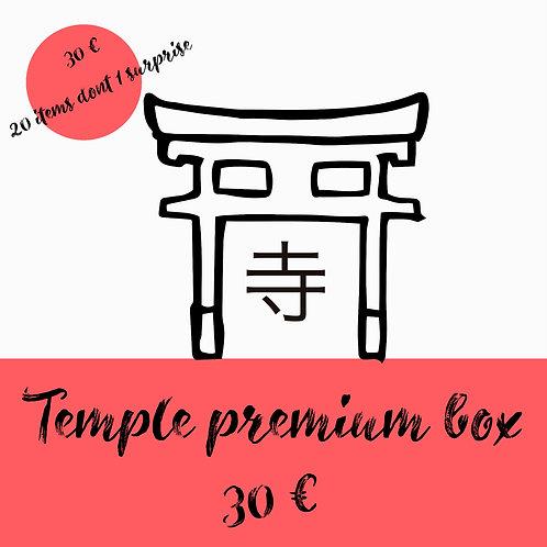 Temple premium box abonnement 6 mois