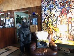 lobby bear