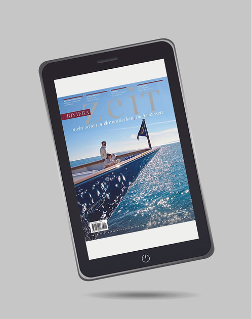 e-Magazine RivieraZeit n°314 - Juillet/Août/Septembre 2019