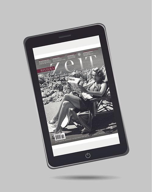 e-Magazine RivieraZeit n°319 - Oct/Nov/Déc 2020