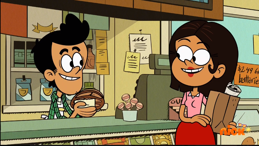 Bobby and Mrs. Flores