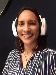 """Michelle C. Bonilla voicing """"Mrs. Flores"""""""