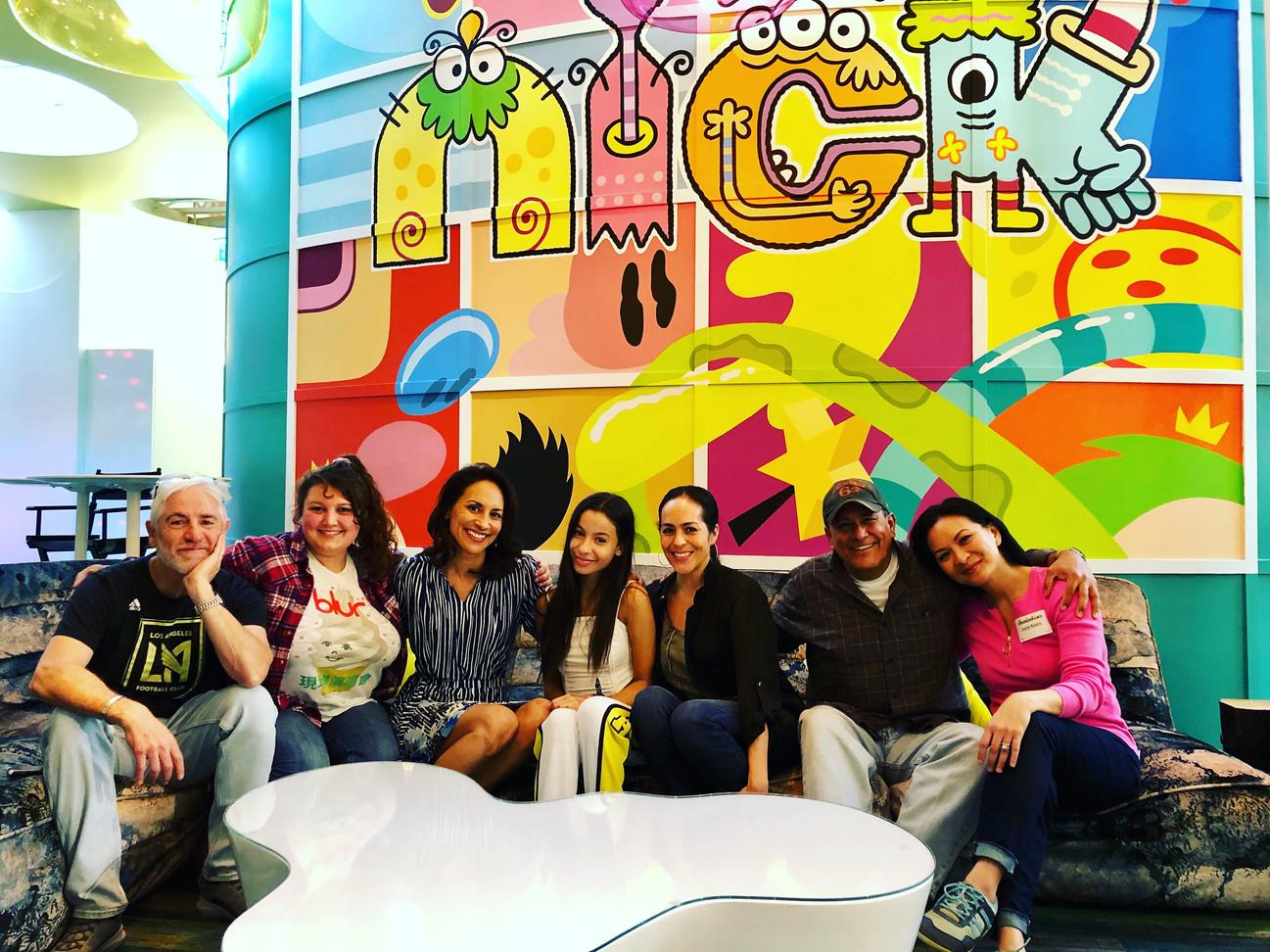 "Particial cast ""The Casagrandes"""