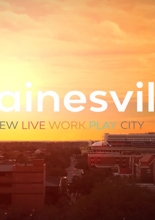 Gainesville, FL. The New American City