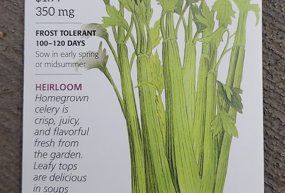 Cellary Utah Organic