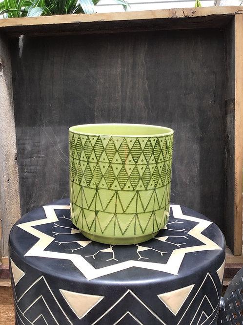 Pepe Pot Green - 6.25 inch diameter