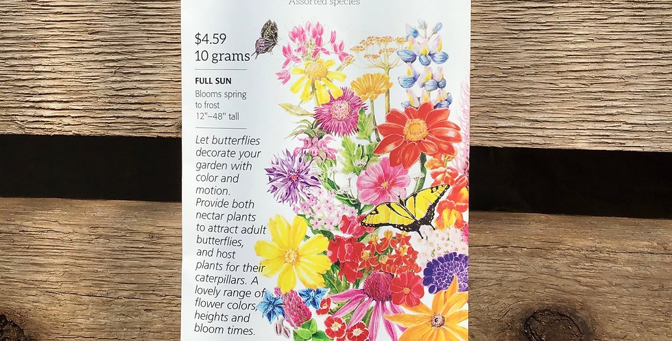 Flower mix Bring home the butterflies large pack